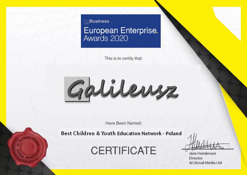 Certyfikat Galileusz